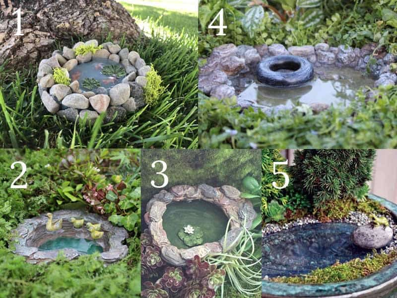 Fairy Garden Ponds Rivers and Streams