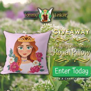 Queen Olivia pillow