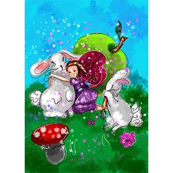 Busana The Bunny Fairy