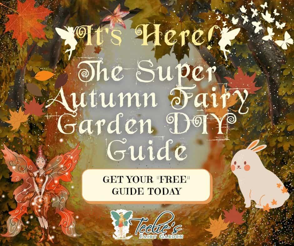 Autumn Fairy Garden Diy Guide