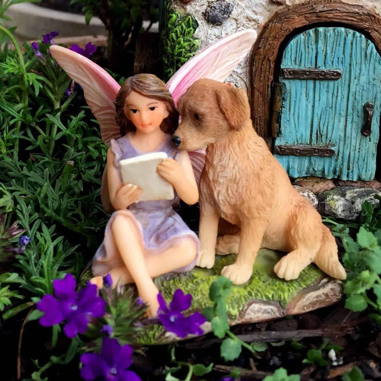 Fairy and dog