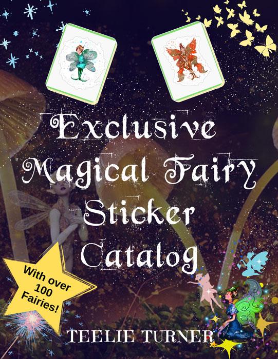 the magical fairy sticker catalog