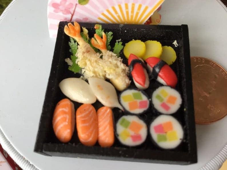 Miniature Japanese Food