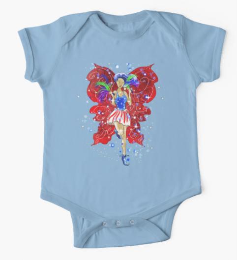 Patriotic Patsy Baby Clothing