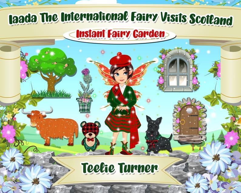 Iaada Scottish Fairy Garden