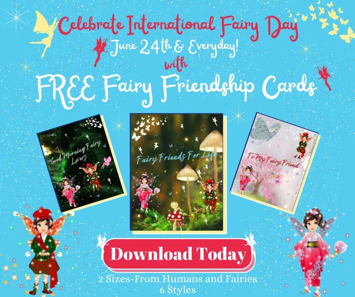 fb banner of fairy friendship cards