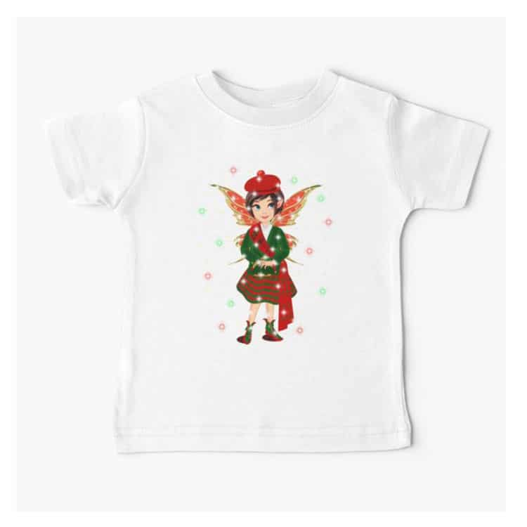 iaada the international fairy– scottish baby t shirt