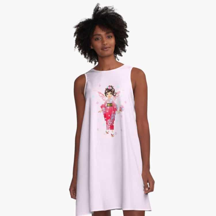 iaada the international fairy – japanese™ a line dress
