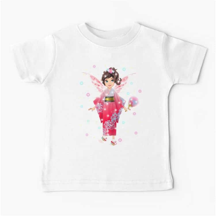 iaada the international fairy – japanese™ baby t shir