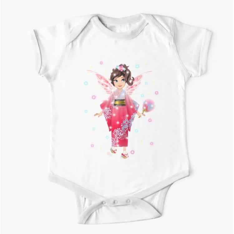 iaada the international fairy – japanese baby one piece