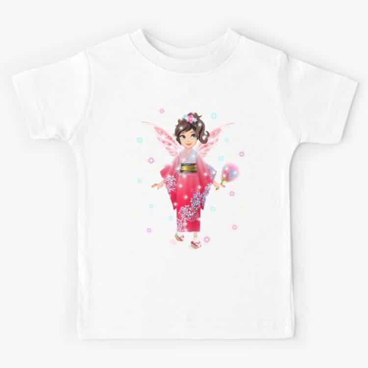 iaada the international fairy – japanese kids t shirt