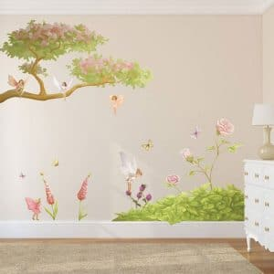 fairy tree, fairy branch, fairy wall stickers