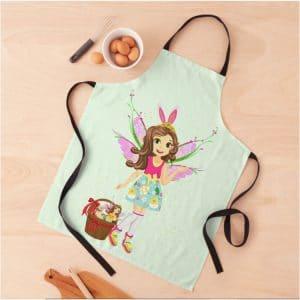 hope the magical easter basket fairy lov'n green™ apron