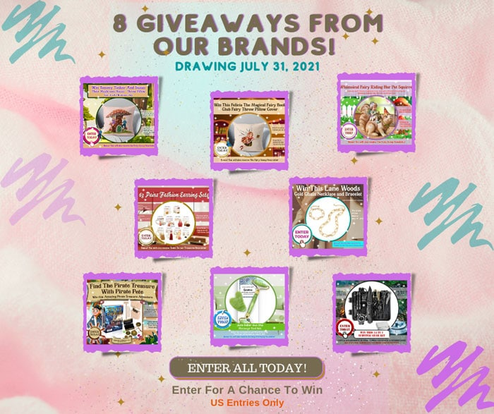 july all in giveaways facebook banner