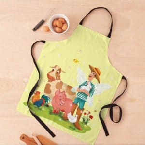 magical fairy farm life with jonathan the fairy farmer™ apron