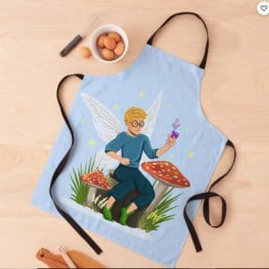 tommy tinker magical toadstool bench™ apron