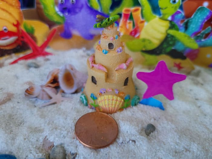 adorable seaside sand castles