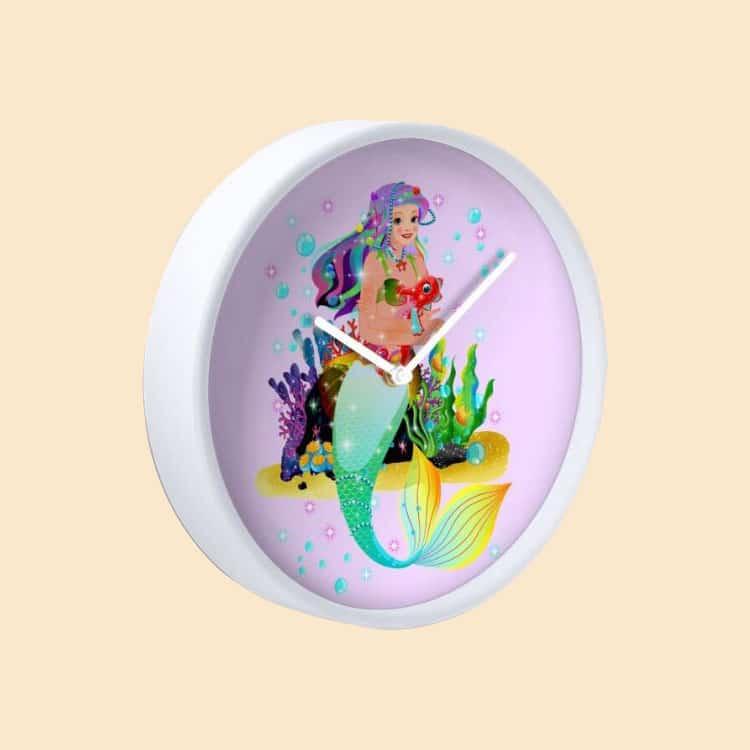 meredith the mermaid clock