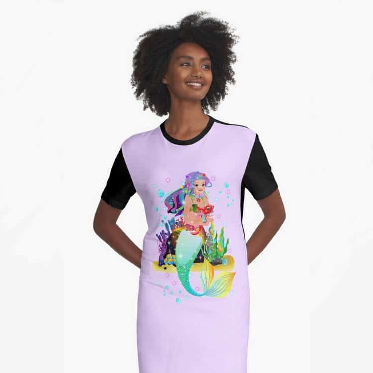 meredith the mermaidbaby dress