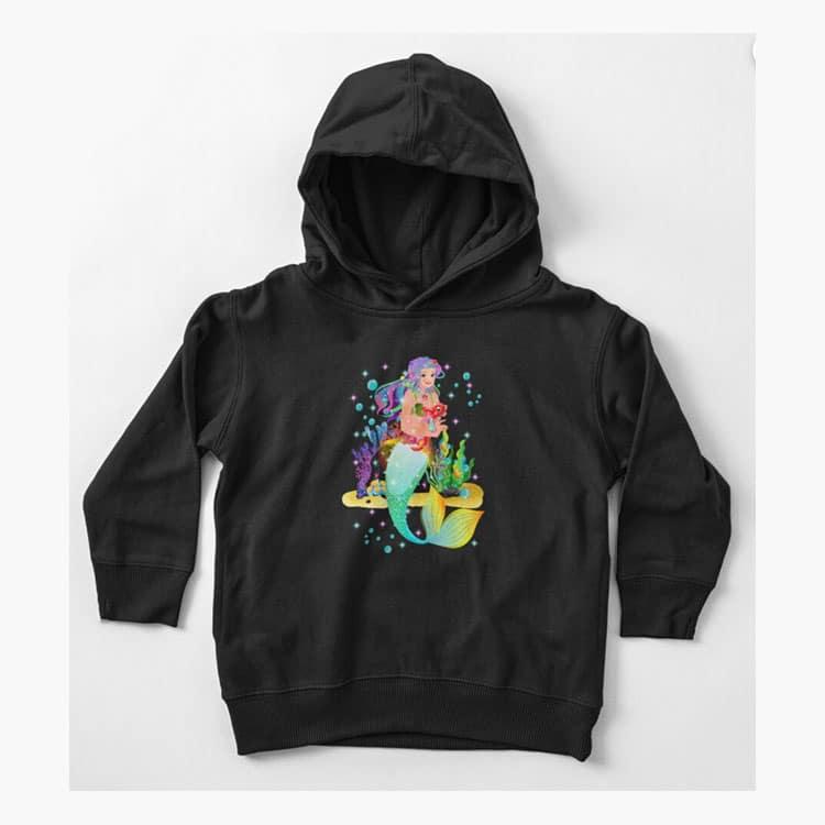 meredith the mermaidbaby hoodie