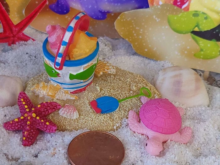 time to play in the sand, mermaid garden