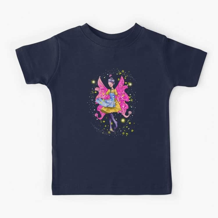 abella the apron fairy™ kids t shirt