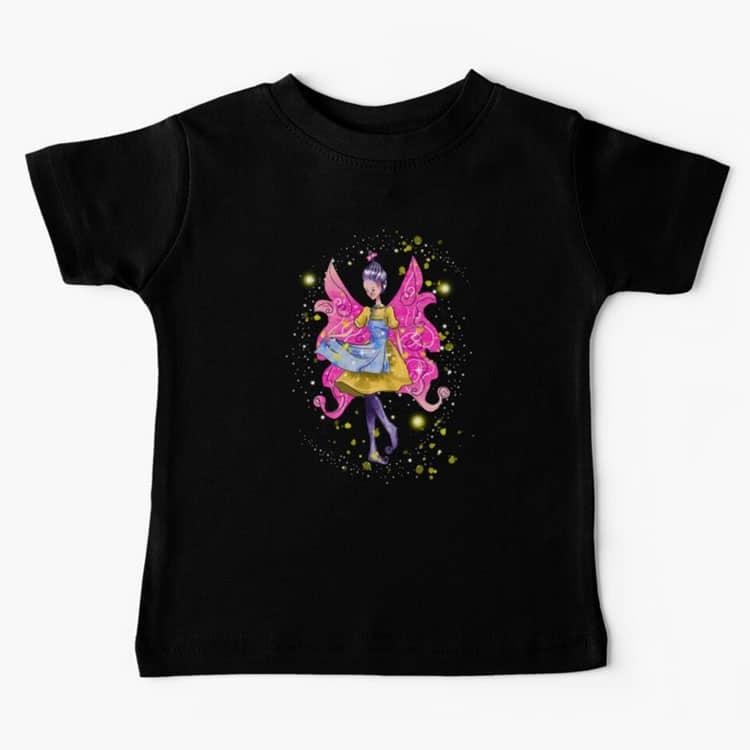 abella the apron fairy baby t shirt