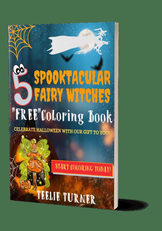 free halloween coloring book 3dbook