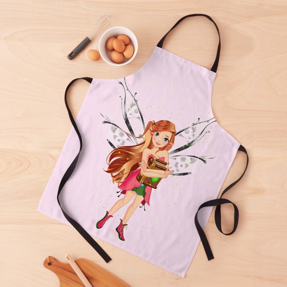 felicia the magical fairy book club fairy loving her books™ apron
