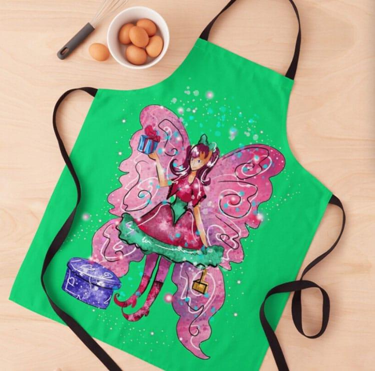githa the gifting fairy apron