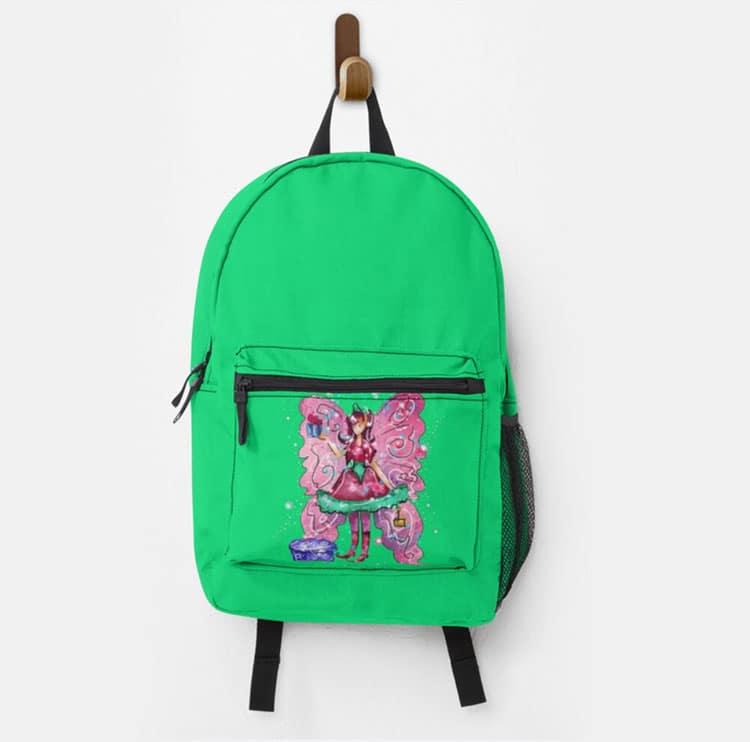 githa the gifting fairy kids bagpack