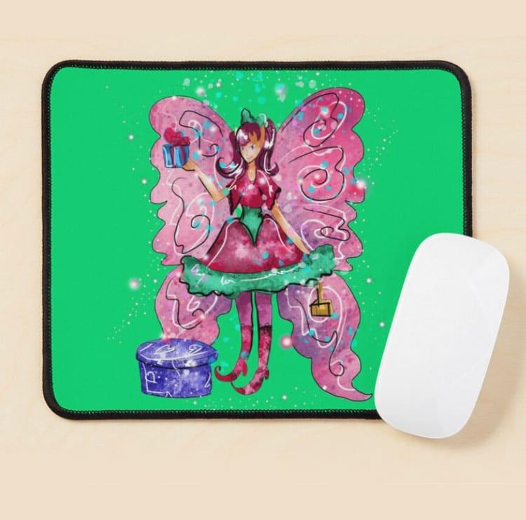 githa the gifting fairy mousepad