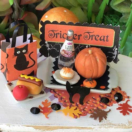 halloween fairy cat trick or treat