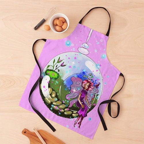 idalis the indoor gardening fairy apron