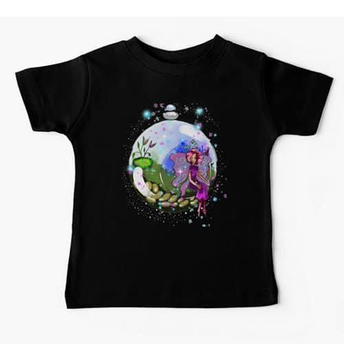 idalis the indoor gardening fairy baby tshirt