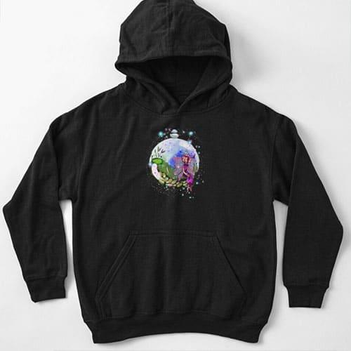 idalis the indoor gardening fairy kid hoodie