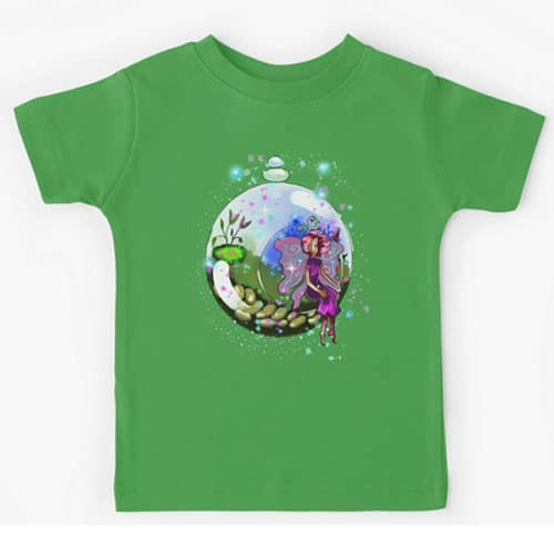 idalis the indoor gardening fairy kid tshirt
