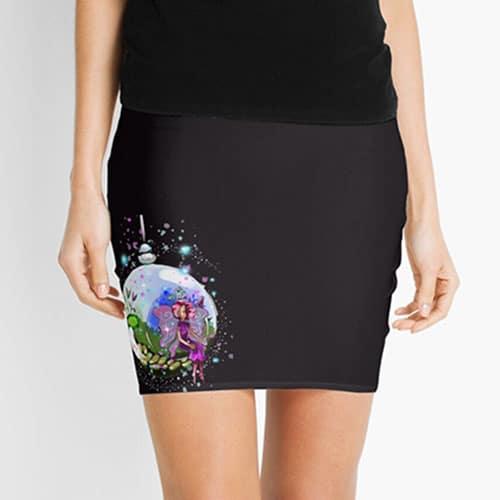 idalis the indoor gardening fairy skirt