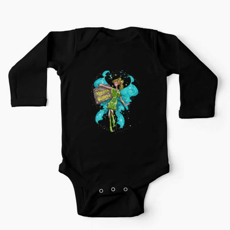iva the inspirational fairy™ baby one piece