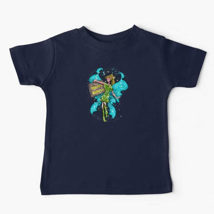 iva the inspirational fairy™ baby t shirt