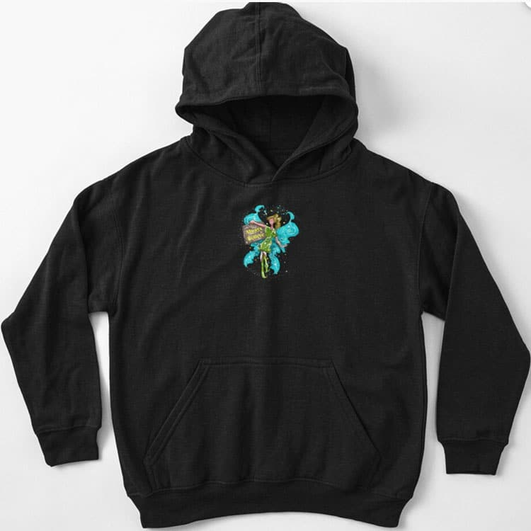 iva the inspirational fairy kids pullover hoodie