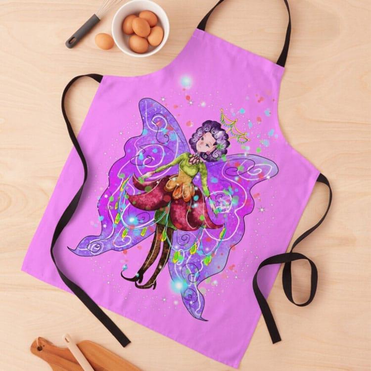 jenessa the jewelry fairy apron