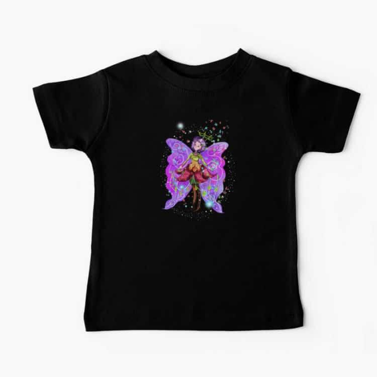 jenessa the jewelry fairy baby tshirt