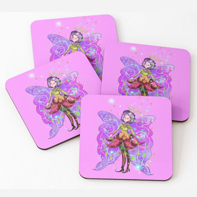 jenessa the jewelry fairy mouse pad