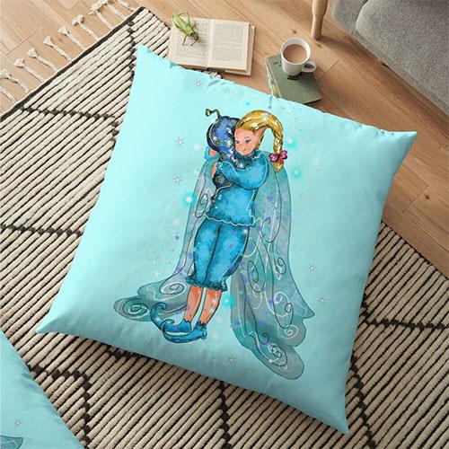 pooky floor pillow