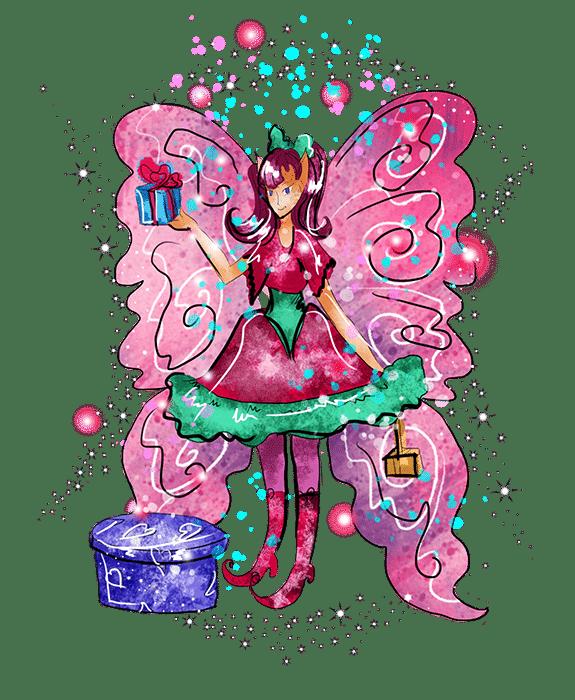 redbubble githa the gifting fairy