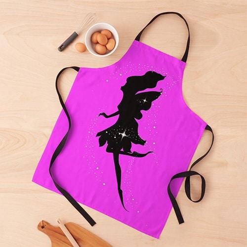 shadow fairy apron