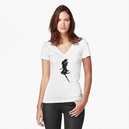 shadow fairy tshirt
