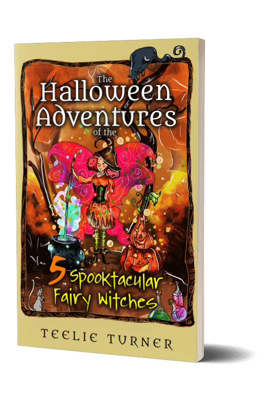 the halloween adventures 5 spooktacular fairy witches 3dbook