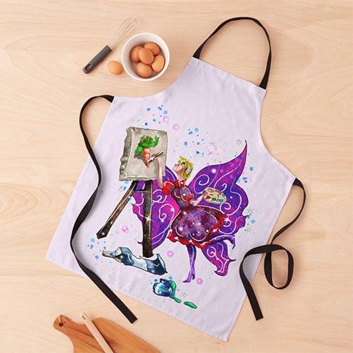 tianna the t shirt fairy apron